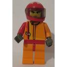 LEGO Racer Driver, Scorcher Minifigure