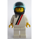 """LEGO Racer with """"S"""" Minifigure"""