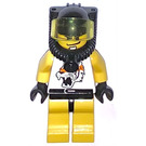 LEGO Racer with Tiger Top Minifigure