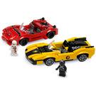 LEGO Racer X & Taejo Togokhan Set 8159