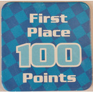 LEGO Racers Game First Place 100 Points Card