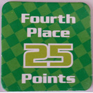 LEGO Racers Game Fourth Place 25 Points Card