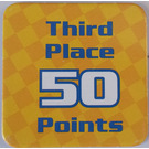LEGO Racers Game Third Place 50 Points Card