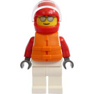 LEGO Racing Driver Minifigure