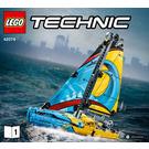 LEGO Racing Yacht Set 42074 Instructions