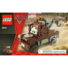 LEGO Radiator Springs Classic Mater Set 8201 Instructions