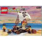 LEGO Raft Raiders Set 6261 Instructions