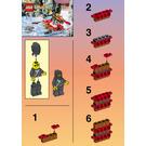 LEGO Raft Set 1185 Instructions