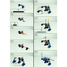 LEGO Rahaga Gaaki Set 4868 Instructions