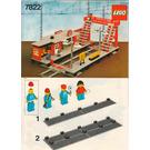 LEGO Railway Station Set 7822 Instructions