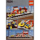 LEGO Railway Station Set 7824 Instructions
