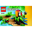 LEGO Rainforest Animals Set 31031 Instructions