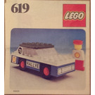 LEGO Rally Car Set 619 Instructions