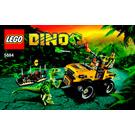 LEGO Raptor Chase Set 5884 Instructions