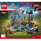 LEGO Raptor Escape Set 75920 Instructions