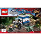 LEGO Raptor Rampage Set 75917 Instructions
