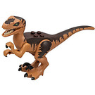 LEGO Raptor with Dark Brown Markings