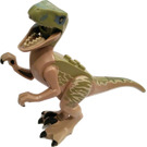 LEGO Raptor with Olive Green Markings