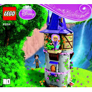 LEGO Rapunzel's Tower of Creativity Set 41054 Instructions