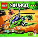 LEGO Rattlecopter Set 9443 Instructions