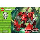 LEGO Raw-Jaw Set 2232 Instructions