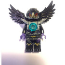 LEGO Razcal With Silver Shoulder Armour and Chi Minifigure