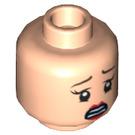 LEGO Rebecca Reid Head (Recessed Solid Stud) (13924)