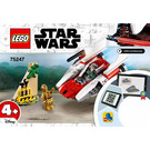 LEGO Rebel A-wing Starfighter Set 75247 Instructions
