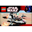 LEGO Rebel Scout Speeder Set 7668 Instructions
