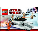 LEGO Rebel Trooper Battle Pack Set 8083 Instructions