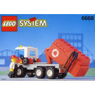 LEGO Recycle Truck Set 6668