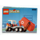 LEGO Recycle Truck Set 6668 Instructions