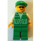 LEGO Recycle Truck Worker Minifigure