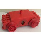 LEGO rouge 12V Electric Train Motor without Middle Wheels