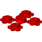 LEGO 4 Flower Heads on Sprue (3742 / 56750)