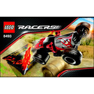 LEGO Red Ace Set 8493 Instructions