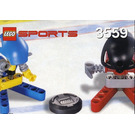 LEGO Red and Blue Player Set 3559