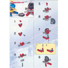 LEGO Red and Blue Player Set 3559 Instructions