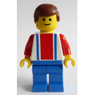 LEGO Red and Blue Team Player with Number 10 Minifigure