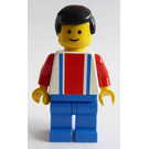 LEGO Red and Blue Team Player with Number 2 Minifigure