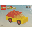 LEGO Red and Yellow Car Set 1606 Instructions