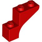 LEGO Red Arch 1 x 3 x 2 (88292)