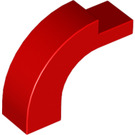 LEGO Red Arch 1 x 3 x 2 with Curved Top (6005 / 92903)
