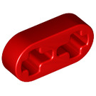 LEGO Red Beam 2 x 0.5 with Axle Holes (41677 / 44862)