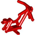 LEGO Red Bicycle Frame with Stand (4719 / 65574)