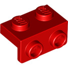 LEGO Red Bracket 1 x 2 - 1 x 2 (99781)
