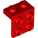 LEGO Red Bracket 1 x 2 - 2 x 2 (21712 / 44728 / 92411)
