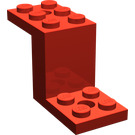 LEGO Bracket 2 x 5 x 2.33 without Inside Stud Holder (6087)