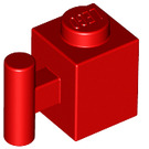LEGO Red Brick 1 x 1 with Handle (2921 / 28917)