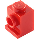 LEGO Red Brick 1 x 1 with Headlight and Slot (4070)